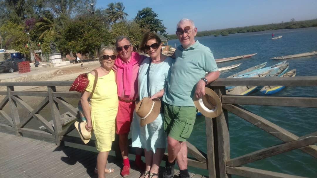 Griupe de touristes Bretons en excursion - Villa Saly
