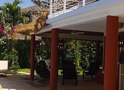 Villa sawana - terrasse avec piscine privée